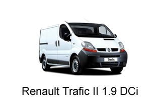 Renault Traffic II 1.9 DCi 2001-2006