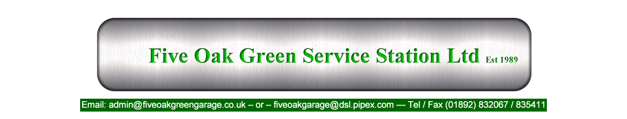 Five Oak Green Service Station Ltd